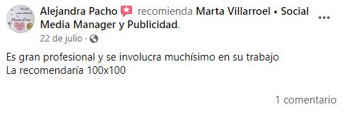 Opinión Sandra